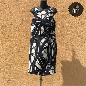 ANN TAYLOR Printed Silk Dress